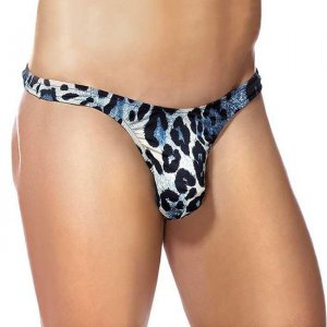 Male Power Anaconda Bong Thong Underwear Blue 442-032