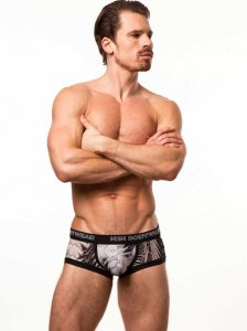 N2N Bodywear Studio Groove Trunk Underwear Black PU2