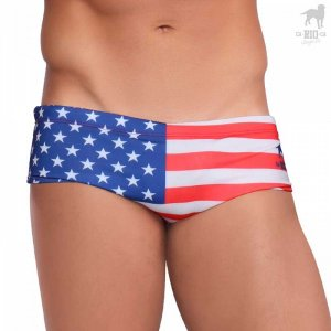 CA-RIO-CA Team USA Flag Low Rise Bikini Swimwear CRC-S307200