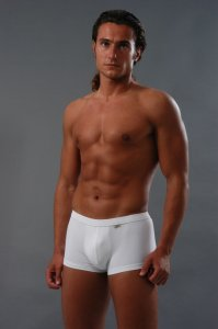Geronimo Boxer Brief Underwear White 257