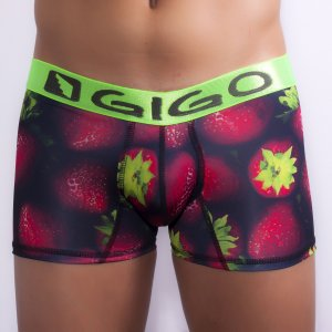 Gigo STRAWBERRY Long Boxer Underwear