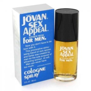 Jovan Sex Appeal Cologne Spray 3 oz / 88.72 mL Men's Fragrance 403044