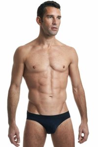 L'Homme Invisible Regular Brief Underwear Black MY11C-SEN-S01