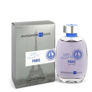 Mandarina Duck Let's Travel To Paris Eau De Toilette Spray 3...
