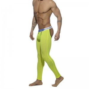 Addicted Light Bottomless Long John Long Underwear Pants Yel...