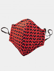 Barcode Berlin Colonel Liam Function Unisex Mask Red/Black 9...