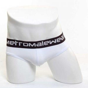 MIIW Solid Thong Underwear White 2702-00