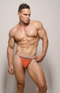 Pride Gossamer G String Underwear Orange PRU-075