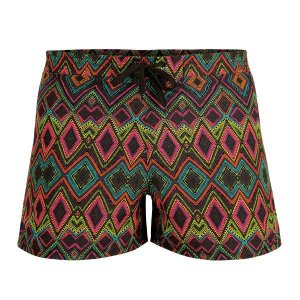 Litex Printed Mesh Lined Shorts Swimwear 93659