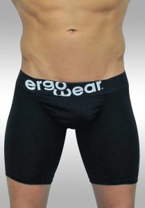 Ergowear Feel Classic Midcut Long Boxer Brief Underwear Black