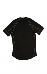 Litex Plain Short Sleeved T Shirt 901 Black 67694