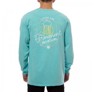 Party Pants Neon Long Sleeved T Shirt Chalky Mint PM191108