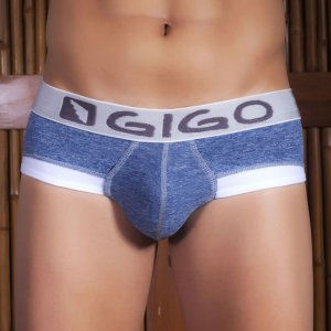 Gigo ROCKS BLUE Brief Underwear