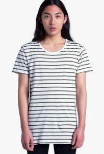 AS Colour Wire Stripe Short Sleeved T Shirt 5024