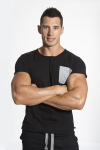 Bloke Undees Muscle Short Sleeved T Shirt Black BTS-BK