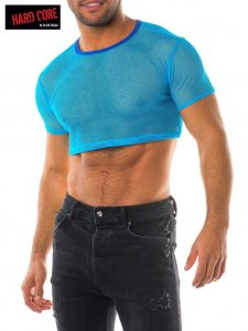 Go Softwear XXX Crop Short Sleeved T Shirt Ocean Blue 4436