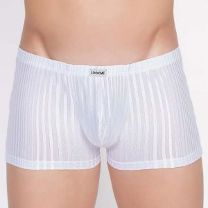 Lookme Wellness Boxer Brief Underwear White 703-67
