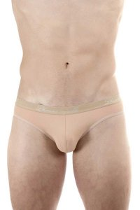 L'Homme Invisible Low Rise Micro Brief Underwear Nude Skin M...