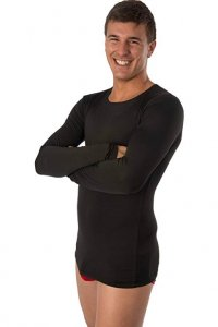 Anaissa Raff [2 Pack] Thermal Long Sleeved T Shirt Black 197