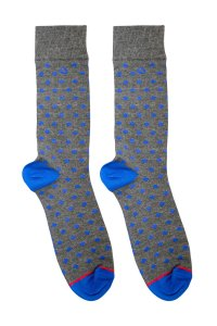 MaleBasics Fun Socks Rombos MS01