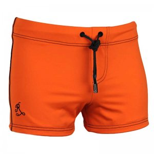 Ramatuelle Borneo Square Cut Trunk Swimwear Orange