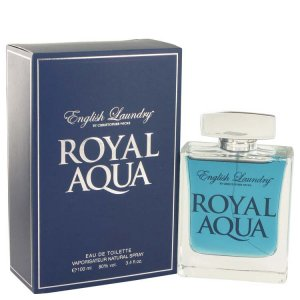 English Laundry Royal Aqua Eau De Toilette Spray 3.4 oz / 100.55 mL Men's Fragrance 514672