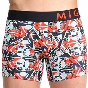 MIGO UFO Signs III Boxer Brief Underwear Navy