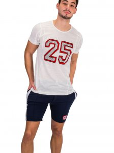 Clearance Barcode Berlin 25 Juhani Short Sleeved T Shirt White 91322-200