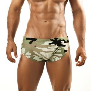 Joe Snyder Camo Running Shorts 09CAMO Sportswear
