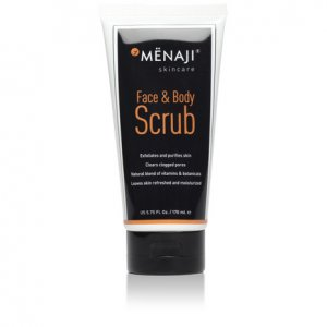 Menaji Face & Body Scrub 5.75 oz/170 mL Skin Care