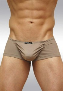 Ergowear Feel Suave Mini Boxer Brief Underwear Mink Brown