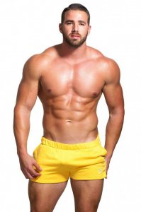 Marcuse Physical Shorts Yellow