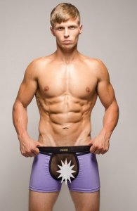 Pride Riviera Trunk Underwear Purple PRU-020