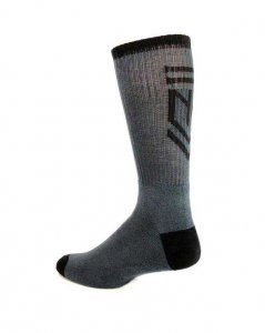 Nasty Pig Insignia Socks Grey 7398