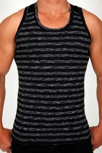 Pistol Pete Stealth Tank Top T Shirt Black TK160-117