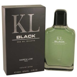 Karen Low Black Eau De Toilette Spray 3.4 oz / 100.55 mL Men's Fragrances 537738