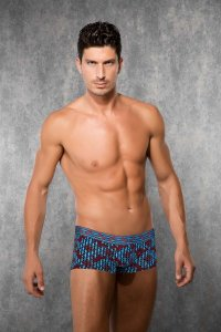 Doreanse Horse Plaid Boxer Brief Underwear 1847
