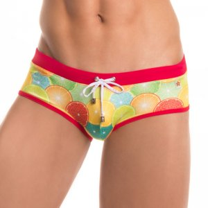 Jor ORANGE Boxer Swimwear 0271