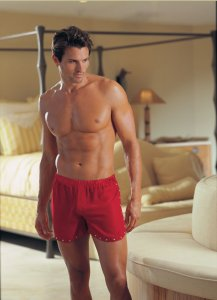 Dreamguy Red Chiffon Boxer Brief Underwear 4976