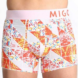 MIGO Signs Boxer Brief Underwear Red