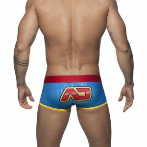 Addicted Hero Boxer Brief Underwear Royal Blue AD628