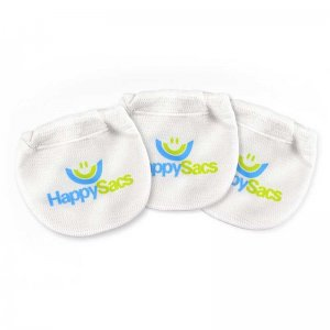 HappySacs [3 Pack] 2.0 Combo Pouch Underwear White