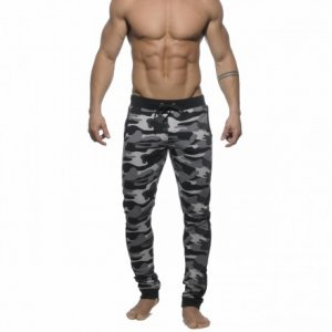 ES Collection Military Sweat Pants Camouflage Charcoal SP056