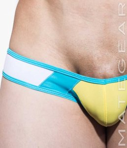 Mategear Ka Ha III Reduced Sides Mini Square Cut Trunk Swimw...