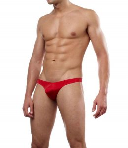 Cover Male Pouch Enhancing Thong Underwear & Swimwear Red 202