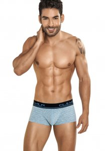 Clever Belice Latin Boxer Brief Underwear Grey 2184