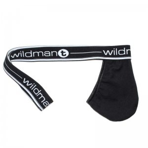 WildmanT Big Boy Strapless Jock Pouch Underwear Black WT-15