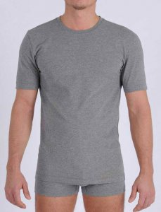 Ginch Gonch Signature Short Sleeved T Shirt Grey MSG124
