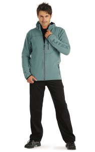 Litex Hooded Zipper Jacket Green 73154