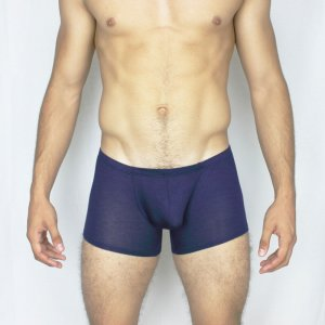 McKillop Happy Balls Modal Low Boxer Brief Underwear Navy HWMO-NV1